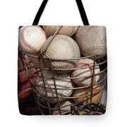 Sports - Baseballs And Softballs Tote Bag