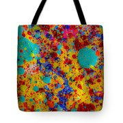 Spot Of Blue Sky Tote Bag