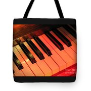 Spotlight On Piano Tote Bag