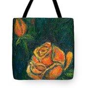 Spotlight Rose Tote Bag