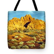 Spots Of Grass Tote Bag