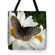 Spotted Butterfly Tote Bag