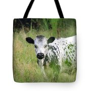 Spotted Cow In The Forest Tote Bag