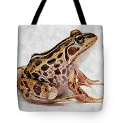 Spotted Dart Frog Tote Bag by Lanjee Chee