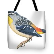 Spotted Diamondbird Tote Bag