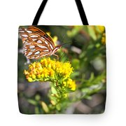 Spotted Gulf Fritillary Tote Bag