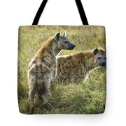Spotted Hyaena Tote Bag