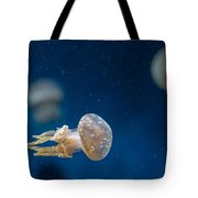Spotted Jelly Aliens 2 Tote Bag