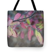 Spotted Leaves Tote Bag