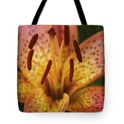 Spotted Lilly Tote Bag