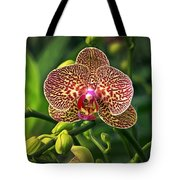 Spotted Orchid Tote Bag