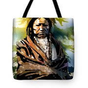 Spotted Tail Tote Bag