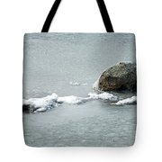 Sprague In Lake Rocky Mountain National Park Tote Bag