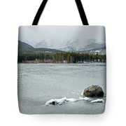 Sprague Lake In Rocky Mountain National Park Tote Bag