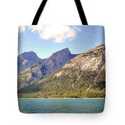 Spray Lake Mountains Tote Bag