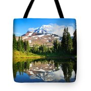 Spray Park Tarn Tote Bag