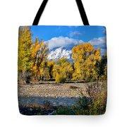 Spread Creek Grand Teton National Park Tote Bag