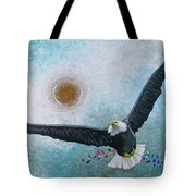 Spread Eagle Tote Bag