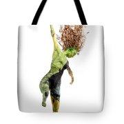 Spread Wings A Sculpture By Adam Long Tote Bag