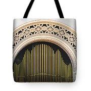 Spreckels Organ Balboa Park San Diego Tote Bag