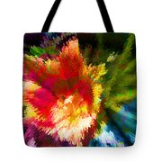 Spring Abstraction I Tote Bag