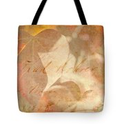 Spring Afternoon Sunlight Tote Bag