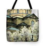 Spring At The Basilica Tote Bag