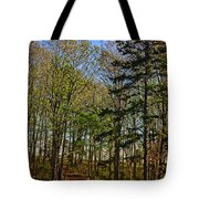 Spring At The Pond Series IIi Tote Bag