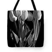 Spring Beauties Bw Tote Bag