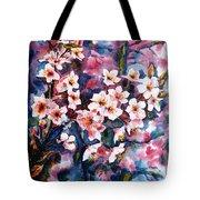 Spring Beauty Tote Bag by Zaira Dzhaubaeva