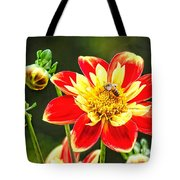 Spring Bee Tote Bag