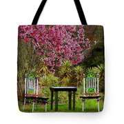 Spring Begins In Wonderland Tote Bag