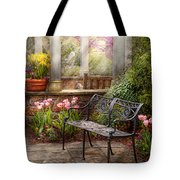 Spring - Bench - A Place To Retire  Tote Bag