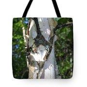 Spring Birch Tote Bag
