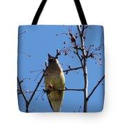 Spring Bird Singing Tote Bag