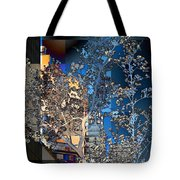 Spring Blossoms In The City - New York Tote Bag