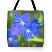 Spring Blue Tote Bag