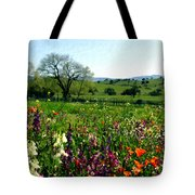 Spring Bouquet At Rusack Vineyards Tote Bag