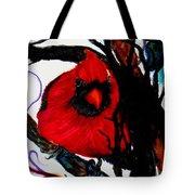Spring Cardinal Tote Bag