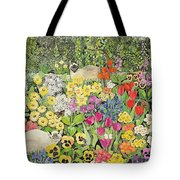 Spring Cats Tote Bag by Hilary Jones