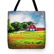 Spring Charm In The Hill Country Tote Bag