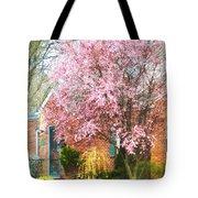 Spring - Cherry Tree By Brick House Tote Bag