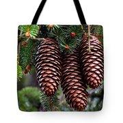 Spring Christmas Tree Tote Bag