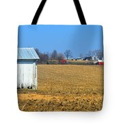 Spring Cleaning The Small Barn Tote Bag
