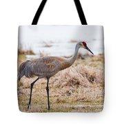 Spring Crane Tote Bag