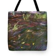 Spring Creek In Oak Canyon Park Tote Bag