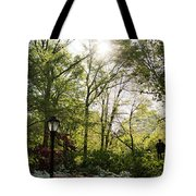 Spring Day In The Park Tote Bag