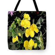 Spring Delight In Yellow Tote Bag