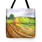 Spring Fields Tote Bag