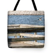 Spring Flight Tote Bag